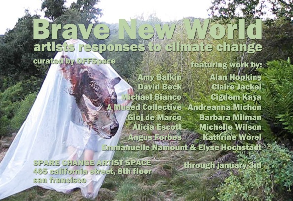 """IMAGE: Alicia Escott, """"Love Song for a Republican in the 6th Great Species Extinction"""", video still, 2010"""